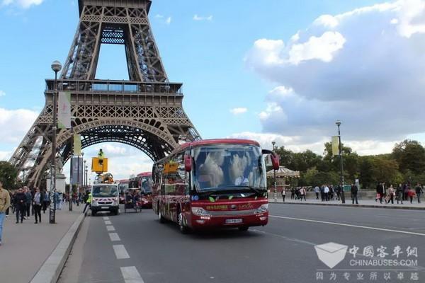 宇通客车载60多国元首参加法国纪念仪式