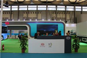 2018上海国际客车展比亚迪展台