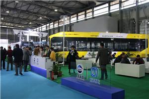 2018上海国际客车展申沃展台