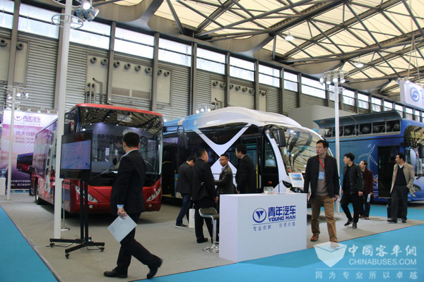 聚焦氢燃料与智能化 上海客车展看青年汽车产品技术布局