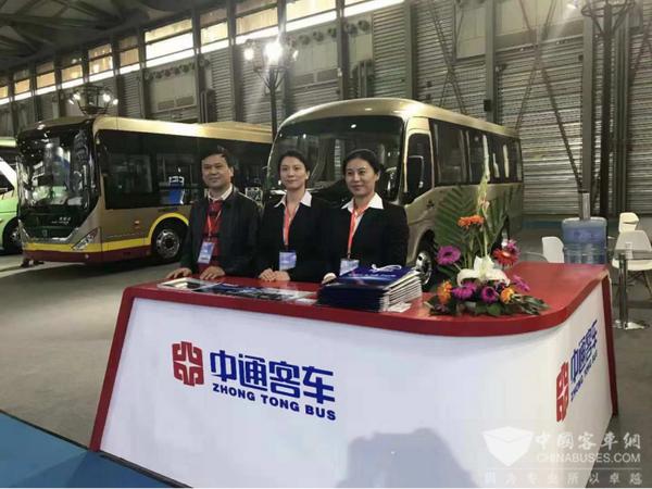 探索交运绿色发展新动能 上海客车展读中通产品技术走向