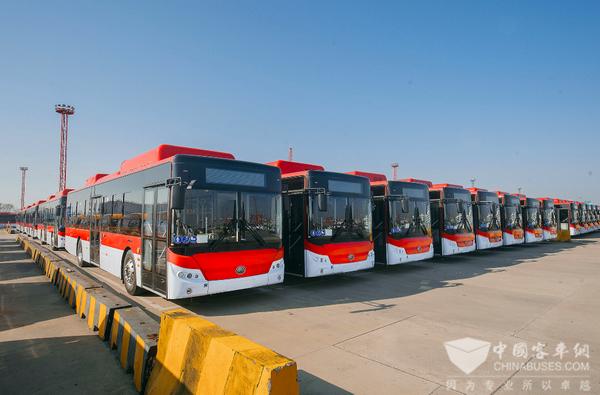 影响中国客车业 品评新能源客车海外出口最大单