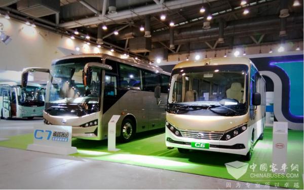 2018旅游客车博览会,比亚迪带来了什么样的精品巴士