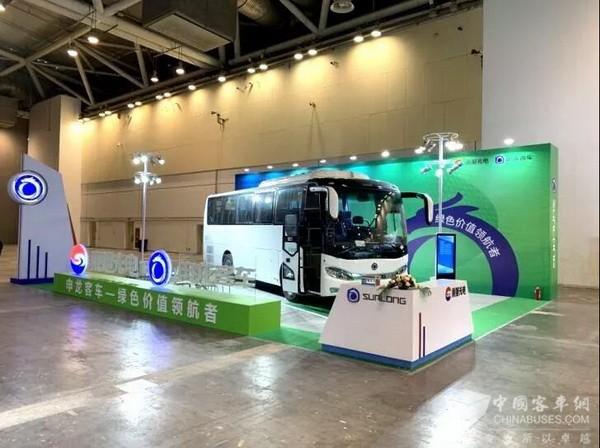 第二届中国旅游交通大会 申龙3系天然气客车受高度评价