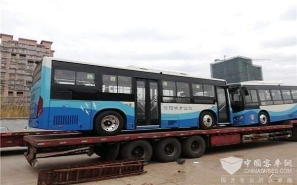 四川:首批36辆新能源公交登陆资阳 元旦节后正式运行