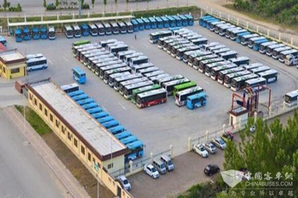 山东菏泽:节能减排 菏泽市公交公司更新800余部新能源车辆
