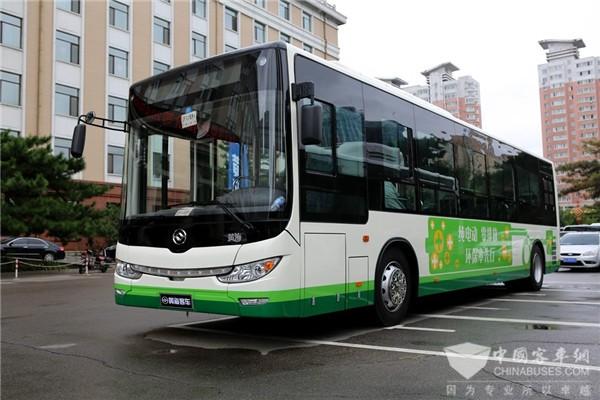 第13届影响中国客车业 见证黄海新能源客车影响力