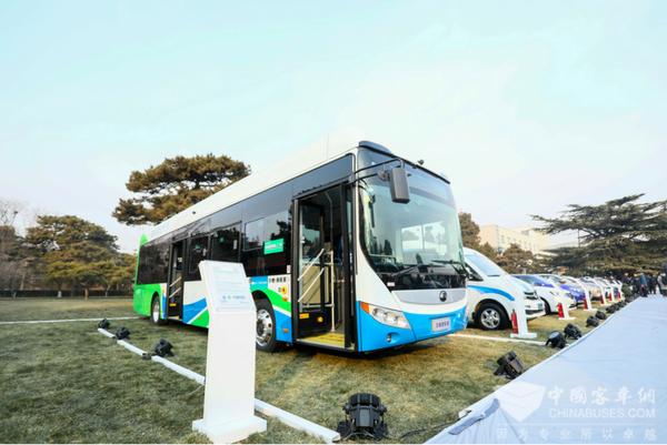 """燃料电池客车亮相百人会,宇通领衔客车产业""""氢""""时代"""