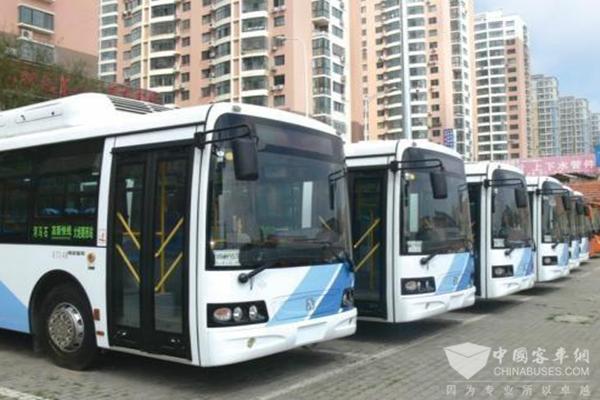 """青岛:莱西新能源公交车率达到98%,""""绿色交通模式""""基本完成"""