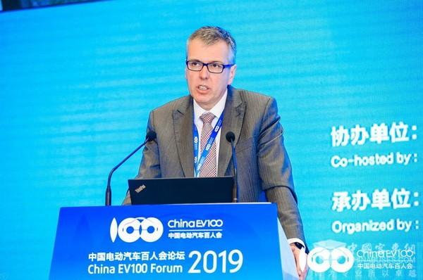 2019百人会 采埃孚亚太总裁 Holger Klein:将高度关注和聚焦中国市场