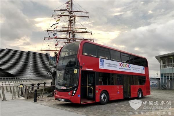 采埃孚轮边电驱动系统首次应用于燃料电池巴士