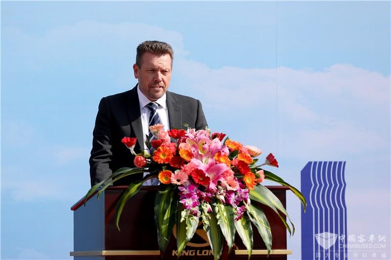 AG汽车贸易公司首席执行官麦克拉斯基致辞