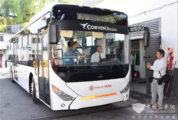 中通客车开启阿根廷的纯电动公交时代