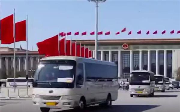 宇通客车连续15年服务全国两会