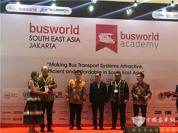 世界客车的大展台 首届世界客车博览会东南亚客车展在雅加达隆重开幕