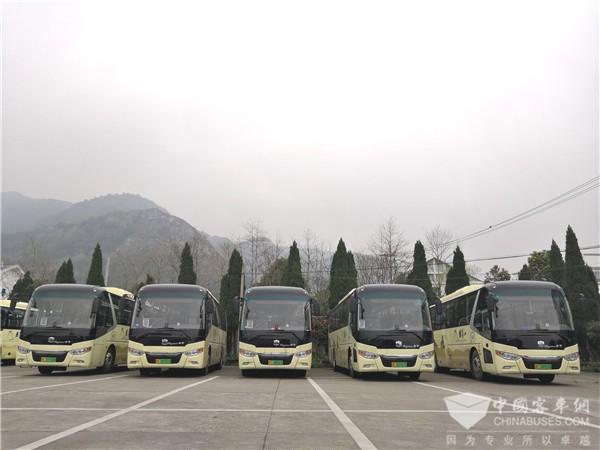 邂逅雁荡胜境 中通客车打造纯电动景区用车新风尚