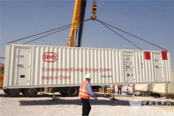 比亚迪将在墨西哥建设100MWh储能系统