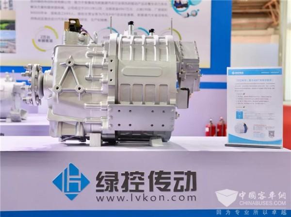 绿控TED纯电系统荣获中国源动力技术先锋奖