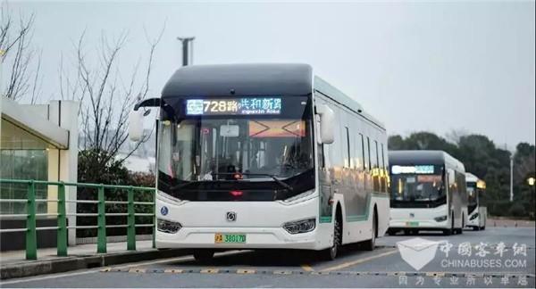 申沃客车携全新一代超高等级智能公交亮相2019上海国际车展