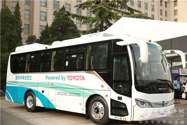 三强协力优势互补 丰田、福田、亿华通合作推出氢燃料电池客车