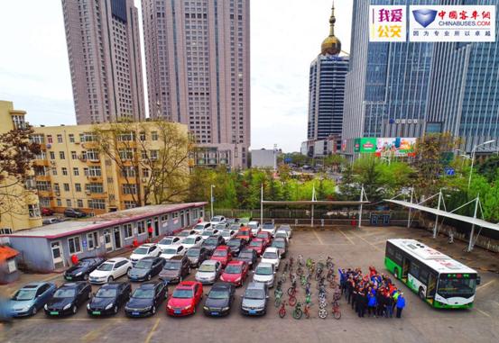 青岛体验:一辆公交客车相当于多少辆私用车?