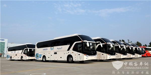 金龙客车一季度整车出口同比增长17%