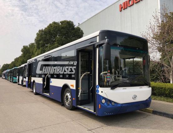 海格客车斩获中国客车出口欧洲最大订单!