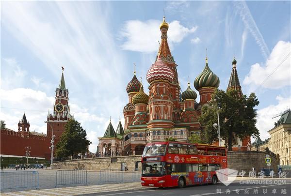 苏州金龙在俄创中国客车行业之最