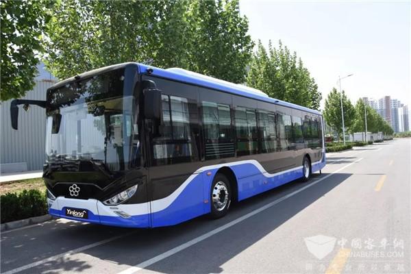 """""""高铁级""""舒适的驾乘体验 银隆200辆新能源公交车驶进石家庄"""