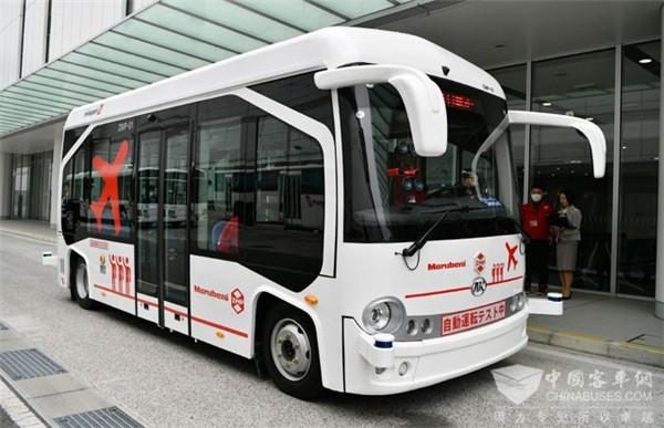 安凯无人驾驶客车首入日本