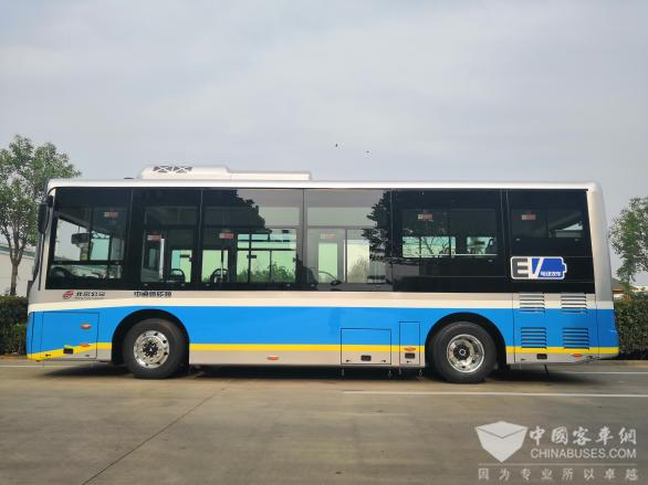 重大突破!超百辆中通客车进京服务首都公交