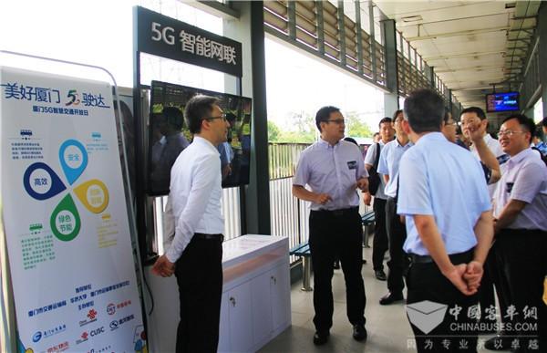 """金龙智能网联公交体验开放,身临其境感受5G公交""""黑科技"""""""