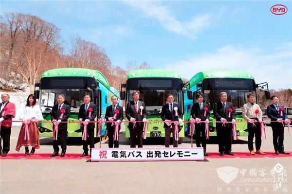 日本纯电动巴士第一品牌来自中国比亚迪