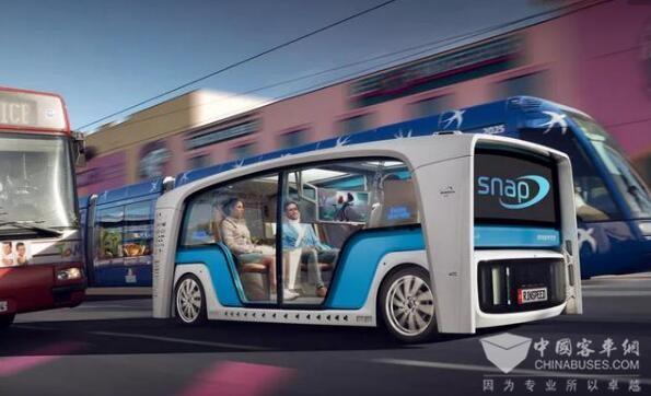 New Flyer与Robotic Research合作自动驾驶客车技术