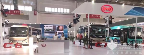 2019北京道展|尽显智慧网联魅力 比亚迪纯电动客车引领绿色智行风尚