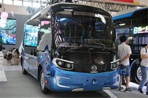 2019北京道路交通运输展金旅客车展台