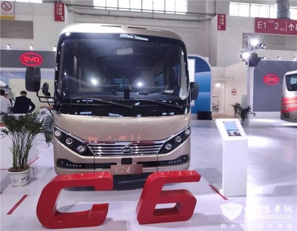 2019年北京国际道路运输展-比亚迪展台