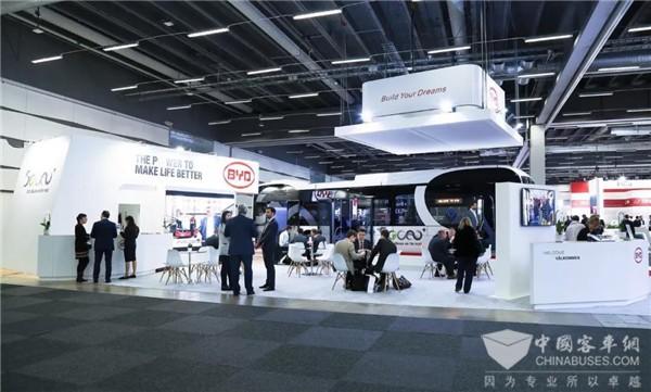 UITP国际公共交通展览会 比亚迪携12米纯电动大巴耀世出击
