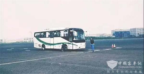 博能上饶两款客车成为我国首批通过AEBS试验的客车车型