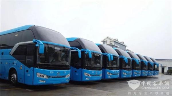 139辆!金旅首批搭载法士特液力缓速器的旅游客车正式交付沙特用户