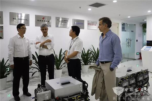 考察氢能产业 联合国工业发展组织能源司司长一行到访亿华通