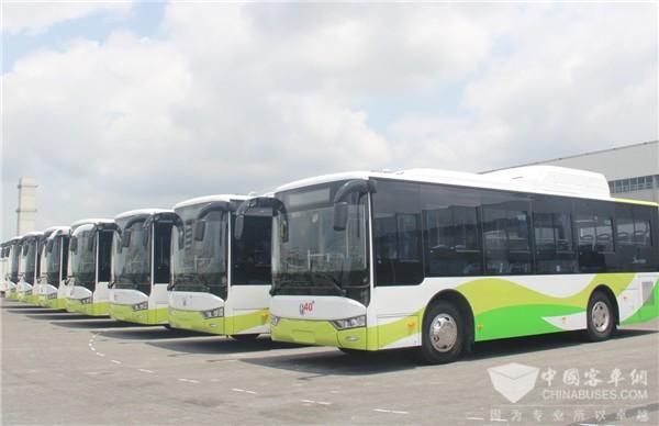 亚星公交首次挺进乌兹别克斯坦