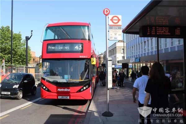 比亚迪与ADL联手打造伦敦纯电动双层大巴车队
