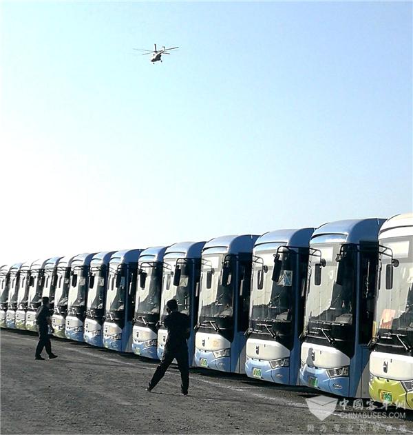极限沙漠 迎战高温 亚星客车力保库尔勒赛区国际军事比赛火热进行