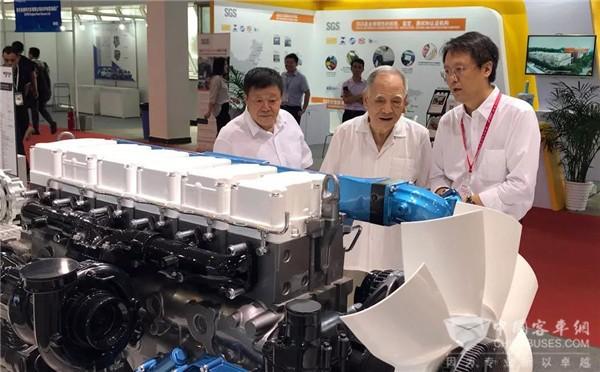 国六+新能源 | 潍柴强势登陆北京内燃机展