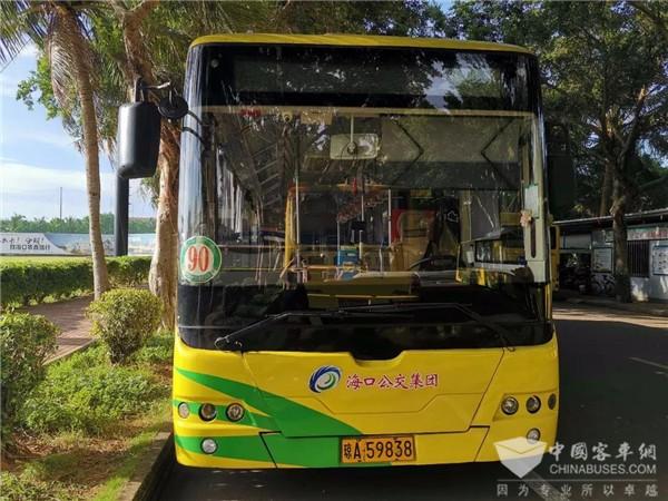 海南:海口新增两条市域列车接驳公交线路,13日起可免费乘坐1个月
