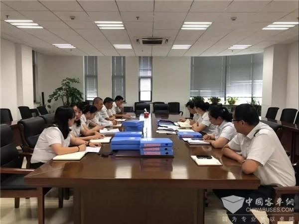 江苏:淮安公交开展基层党建考核工作