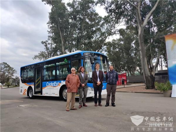 安凯纯电动客车驶入乌拉圭