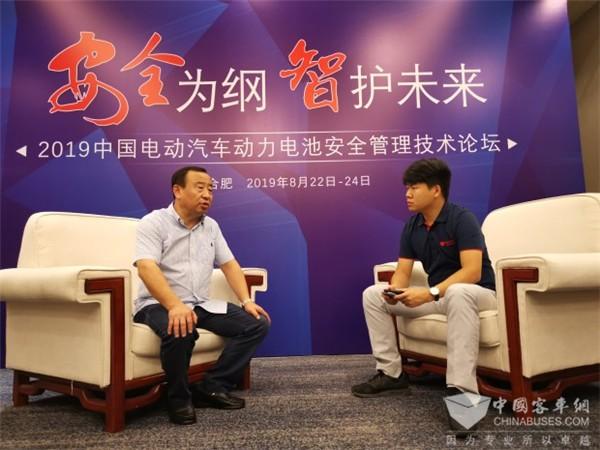 关于新能源客车动力电池安全 对话重庆东城公交董事长舒渝
