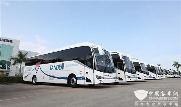金龙客车引领中国创造出口新时代
